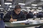 USS Bonhomme Richard (LHD 6) E-7 Advancement Exam 2017 170119-N-TH560-001.jpg