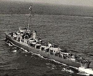 USS Gantner (DE-60) underway, circa in 1944