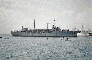 USS General C. H. Muir (AP-142) - Image: USS General C. H. Muir (AP 142)
