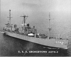 USS Georgetown (AG-165) - Image: USS Georgetown (AGTR 2)