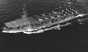 USS Gilbert Islands (CVE-107) underway in 1945.jpg