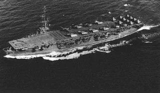 USS <i>Gilbert Islands</i> Commencement Bay-class escort carrier of the US Navy