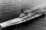 USS Kearsarge (CVS-33) with crew spelling olympic greetings 1964.jpg