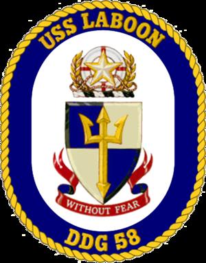 USS Laboon - Image: USS Laboon DDG 58 Crest