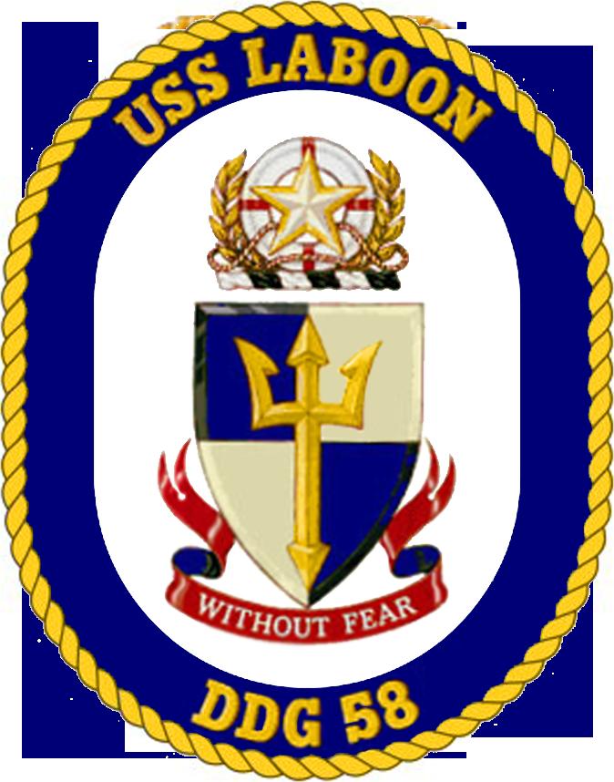 USS Laboon DDG-58 Crest