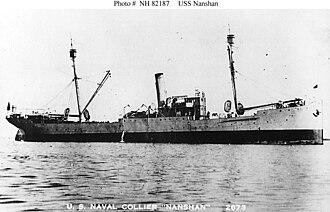 USS Nanshan (AG-3) - Image: USS Nanshan (1898 1922, later AG 3)