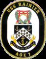 USS Rainier (AOE-7) insignia 1995.png