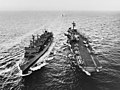 USS Sacramento (AOE-1) replenishes USS Bon Homme Richard (CVA-31) in June 1967.jpg