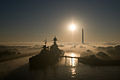 USS TexasSan Jacinto Park in Fog.jpg