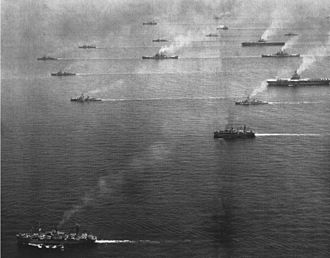 United States Sixth Fleet - The U.S. Sixth Fleet in 1954.