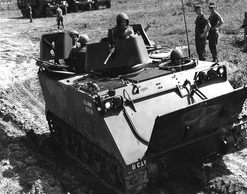 US M113 ACAV Vietnam