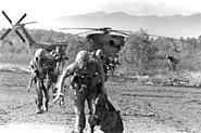 US Marines on Koh Tang, 1975