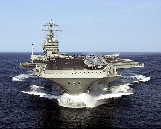 US Navy 000505-N-0000T-005 CVN 74 At Sea