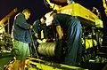 US Navy 040506-C-4633P-001 Sailors assigned to Deep Submergence Unit (DSU) Unmanned Vehicles Detachment (UVD) prepare the Super Scorpio.jpg
