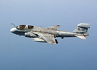 US Navy 040906-N-4374S-005 An EA-6B Prowler conducts a flight mission over the Arabian Gulf.jpg