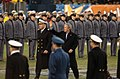 US Navy 041204-N-9693M-016 President Bush moves to the Navy side of the field during 105th Army Navy game.jpg