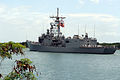 US Navy 060505-N-9643K-020 Guided-missile frigate USS Crommelin (FFG 37) departs Pearl Harbor for a four-month cruise to the U.S. Navy's 7th Fleet area of operation.jpg