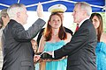 US Navy 090618-N-8732C-002 Secretary of the Defense the Honorable Robert Gates, left, administers the Oath of Office to Secretary of the Navy (SECNAV) the Honorable Ray Mabus.jpg