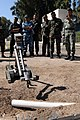 US Navy 091015-N-0260R-061 Sailors assigned to Explosive Ordnance Disposal Mobile Unit 3 train Sailors and Soldiers from Pakistan and Egypt on the use of the PackBot robot system to investigate a simulated Improvised Explosive.jpg