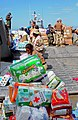 US Navy 100127-N-1831S-082 U.S. Navy Sailors assigned to Beach Master Unit (BMU) 2, and Mexican navy sailors transport baby supplies to the Killick Haitian Coast Guard Base.jpg