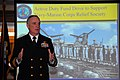 US Navy 100302-N-8732C-008 Rear Adm. Gary E. Hall speaks to volunteer campaign coordinators at the Navy-Marine Corps Relief Society National Capital Region fundraising kickoff.jpg