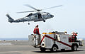 US Navy 100506-N-4236E-015 An SH-60F Sea Hawk helicopter lands on USS Dwight D. Eisenhower (CVN 69).jpg
