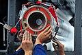 US Navy 100721-N-2953W-647 Sailors load an Evolved Sea Sparrow Surface Missile aboard USS Carl Vinson (CVN 70).jpg