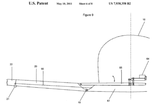 US patent 7938358, fig 9.png