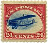 US stamp 1918 24c Curtiss Jenny C3-Fast-Plane Var.jpg