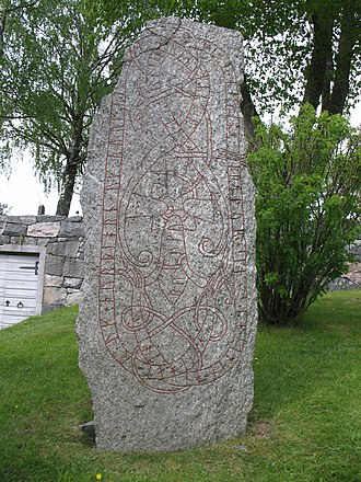 Baltic area runestones - U 180.