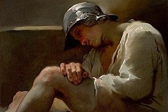 Ubaldo Gandolfi - Image: Ubaldo Gandolfi Sleeping Legionary