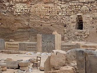 Aleppo - Hadad Temple Inside Aleppo Citadel