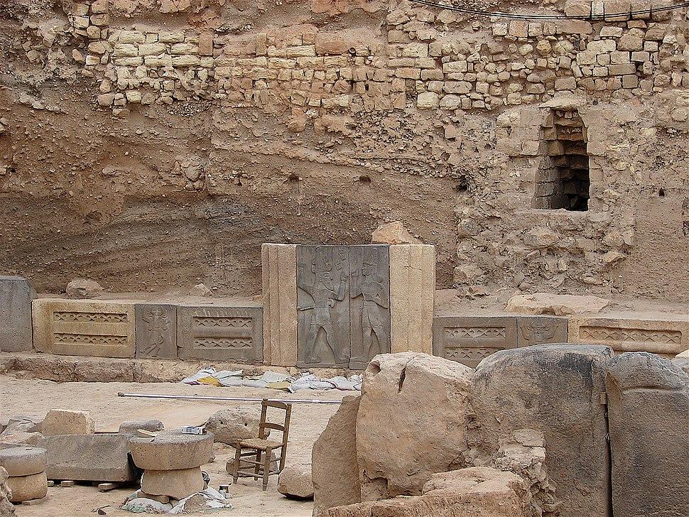 Udgravning (Citadellet Aleppo)