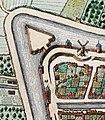 Uitsnede uit stadsplattegrond van Utrecht met voormalige Wolvenburg en Plompetoren in 1649.jpg