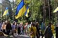 Ukrainian Delegation in Levashovo Memorial Cemetery 11.JPG
