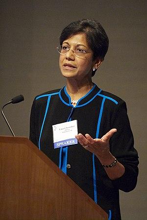 Uma Chowdhry - Image: Uma Chowdhry JPS 2007 10 10 podium