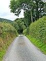 Unclassified road to Brunslow - geograph.org.uk - 873566.jpg