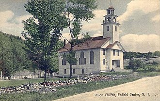 Enfield, New Hampshire - Image: Union Church, Enfield Center, NH