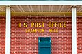 United States Post Office and Mail Collection Box - USPS Mailbox in Champion, Michigan (30502342335).jpg