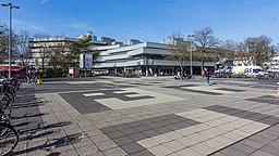 Universitätsstraße, Fahrbahnabsenkung an der Universität zu Köln-0595
