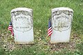 Unknowns in section 37-L-N military plot - Green Lawn Cemetery.jpg