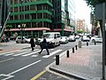 Unsignalized leg of partially signalized intersection (18810884261).jpg