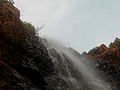 Upper view of Kapila Theertham waterfalls Tirupathi.JPG