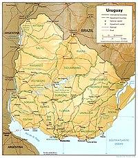 Географія уругваю