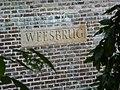 Utrecht Rijksmonument 18281 Weesbrug Oude Gracht, detail.JPG