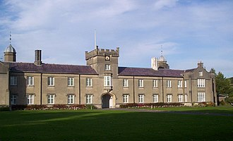 Education in Wales - St David's building of the University of Wales Lampeter - Wales' oldest University