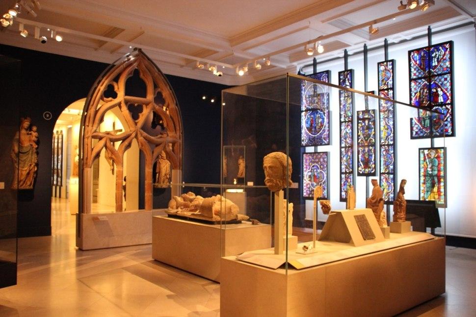 V&A gotisches Zimmer