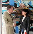 Välisministeeriumi Euroopa ja Atlandi-ülese koostöö küsimuste asekantsler Mart Laanemäe kohtus täna Tallinnas Poola välisministeeriumi asekantsleri Hendryka Mościcka-Dendysiga. (18406560460).jpg