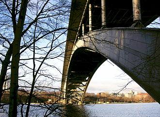 Västerbron - Image: Vaesterbron 2
