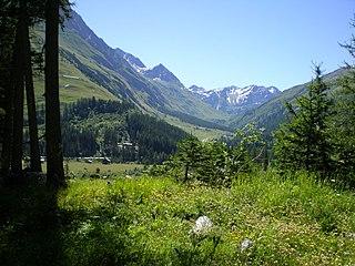 Val Ferret valley